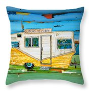 Oceanfront Property Throw Pillow by Danny Phillips