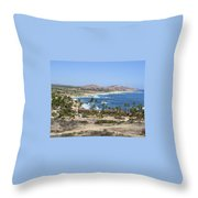 Oceanfront Relaxation Throw Pillow