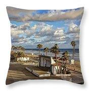 Oceanside Amphitheater Throw Pillow