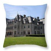 Ochre Court - Rhode Island Throw Pillow