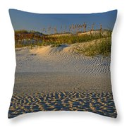 Ocracoke Dunes Throw Pillow