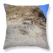 Ocracoke Island Dunes Nc Throw Pillow