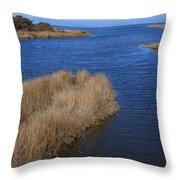 Ocracoke Island-north Carolina Throw Pillow