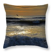 Ocracoke Morning Throw Pillow
