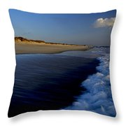 Ocracoke Surf Throw Pillow