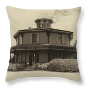 Octagon House  17739b Throw Pillow