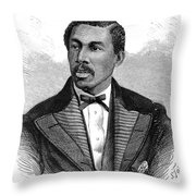 Octavius Catto (1839-1871) Throw Pillow