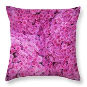 October Carpeting Throw Pillow