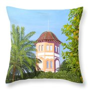 October In Seville Throw Pillow