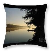 October Morning Throw Pillow