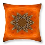 October Pattern Throw Pillow
