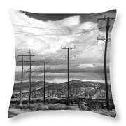 October Road Palm Springs Throw Pillow