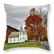 October Skies Throw Pillow