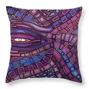 Octopus Eye Throw Pillow