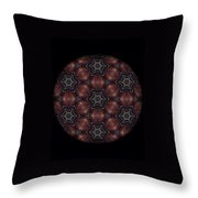 Octopus Mandala Throw Pillow