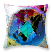 Ocular Mayhem  Throw Pillow