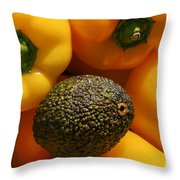 Odd Ball Throw Pillow