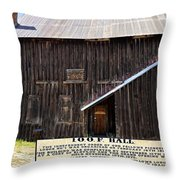 Odd Fellows Historical Building Throw Pillow