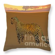 Ode To Silence 1 Throw Pillow