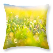 Ode To Spring Throw Pillow