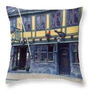 Odense Restaurant Throw Pillow