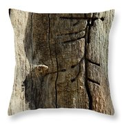 Of An Unseen Hand Throw Pillow