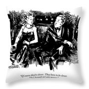 Of Course They're Clever Throw Pillow