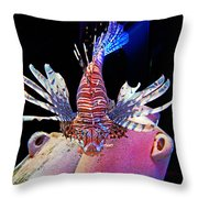 Of Danger And Grace Throw Pillow