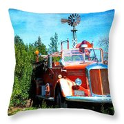 Of Days Gone By Throw Pillow