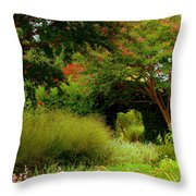 Of Earthly Delights Throw Pillow