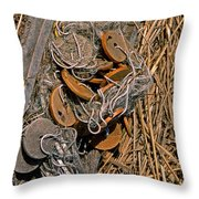 Of Nets And Things Throw Pillow
