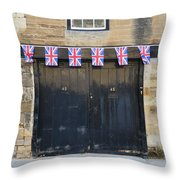 Of The British Throw Pillow