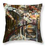 Of The City Throw Pillow