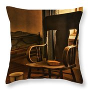 Off His Rocker Throw Pillow