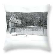 Off Season Throw Pillow