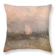 Off The Nore Throw Pillow