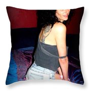 Off The Shoulder Throw Pillow