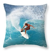 Off The Wall - North Shore Throw Pillow