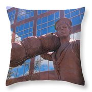 Off To Serve On The High Seas Throw Pillow