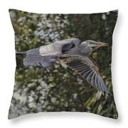 Off To The Nest 2012 Throw Pillow