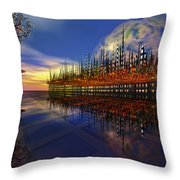 Off World 2 Throw Pillow