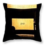 Office 406 Throw Pillow by Bob Orsillo