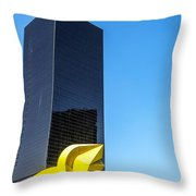 Office Building Throw Pillow