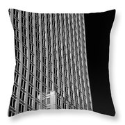 Office Tower  Montreal, Quebec, Canada Throw Pillow