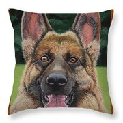 Officer Throw Pillow