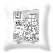 'official Government Version' Throw Pillow