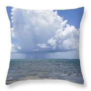 Offshore Storm Throw Pillow