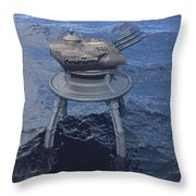 Offshore Turret Throw Pillow