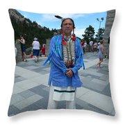 Oglala Lakota Sioux Throw Pillow