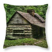 Ogle Cabin Throw Pillow
